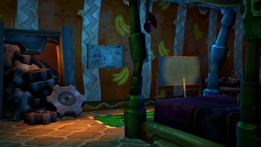 [C4D][Warcraft]Mucki's House