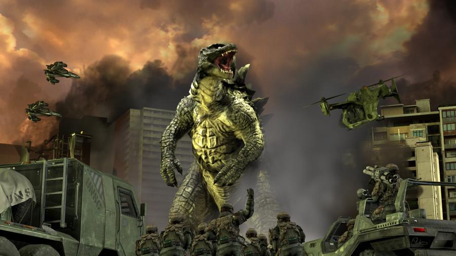 PS3/4: Legendary Godzilla
