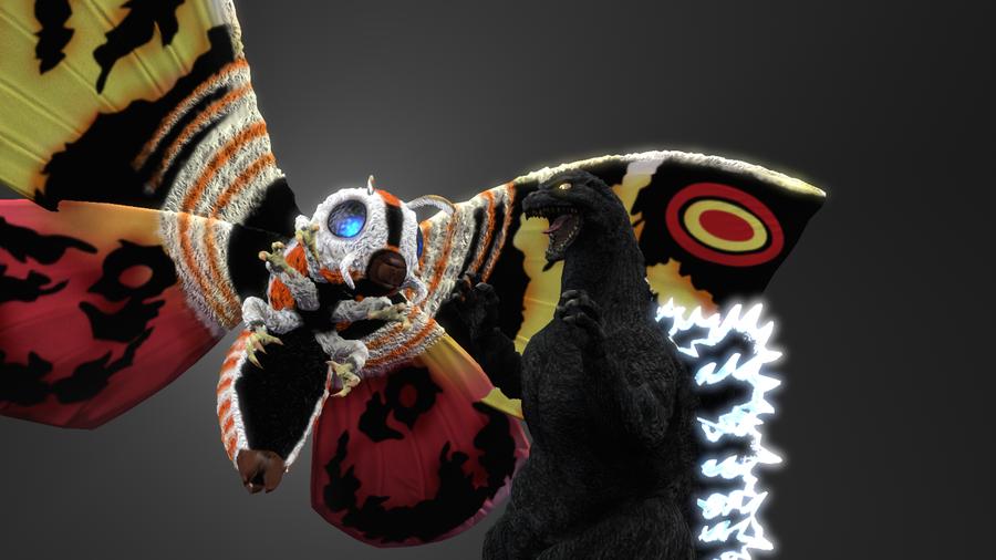 PS3/4: Mothra