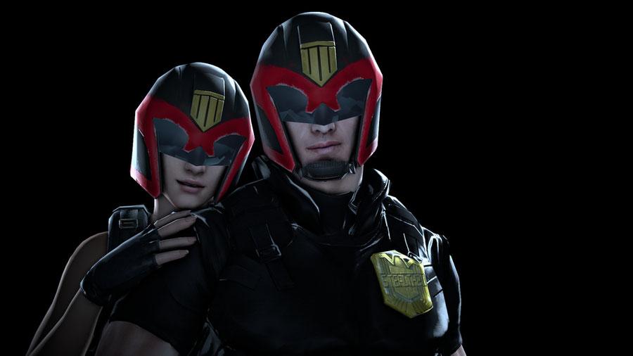 Stealth211's Judge Helmet