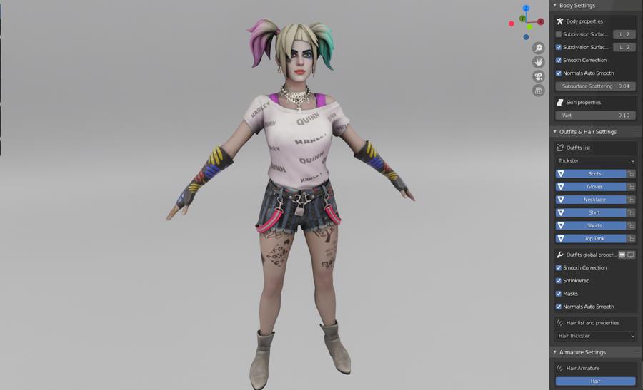 Harley Queen - Fortnite