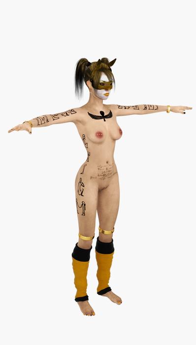 Slave harley egyptian