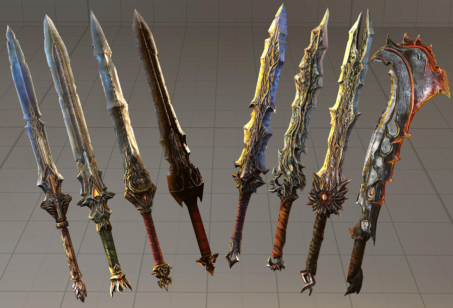 Lords of the Fallen SFM Collection part 3 Weapons B