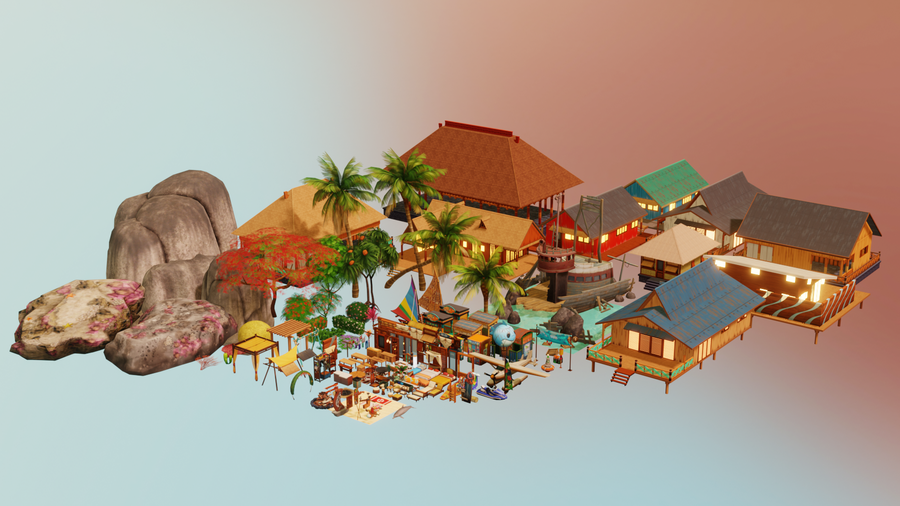 Sims4 - Island Living Pack