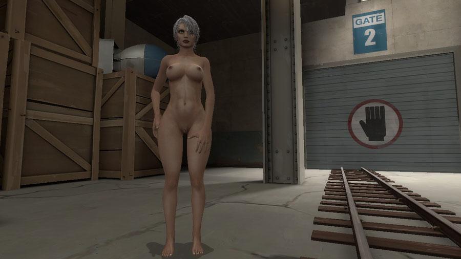 Ivy (Soul Calibur) nude model - Gmod