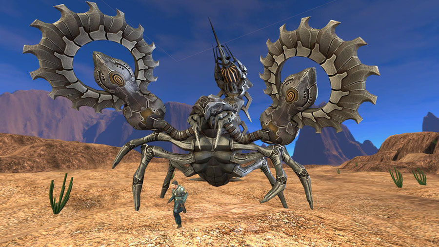 Giant Robot Scorpion - Scarlet Blade