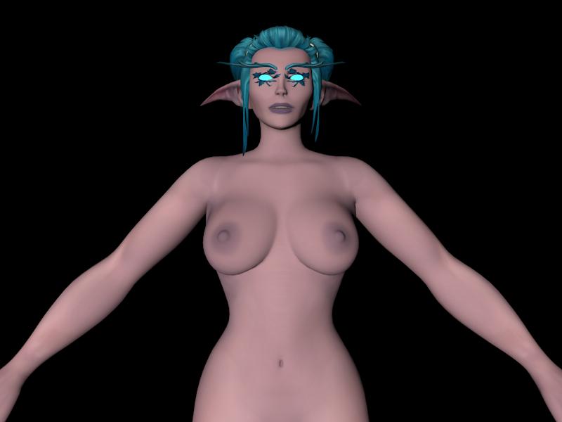[Warcraft] Night Elf Female