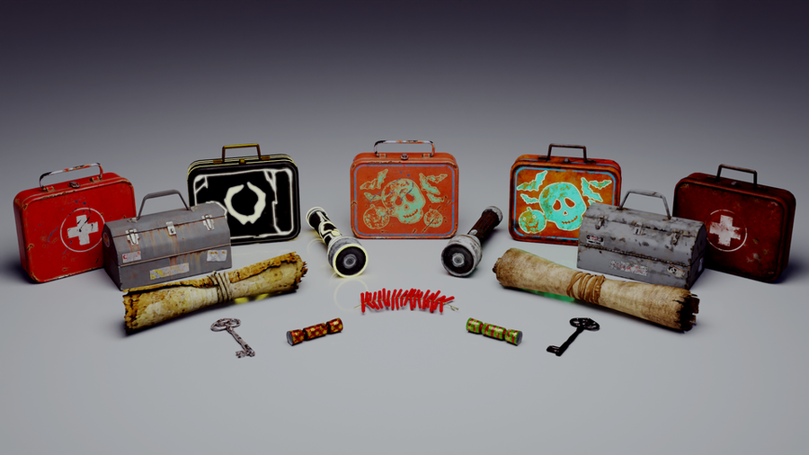 Survivour items - Dead by Daylight