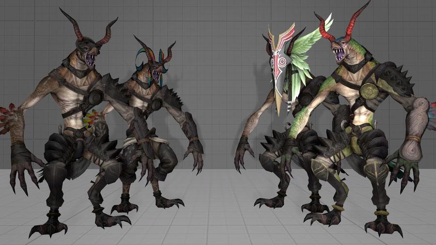 Ixali Beastmen (FFXIV)