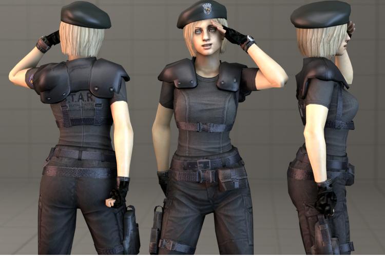 Jill Valentine - STARS Officer