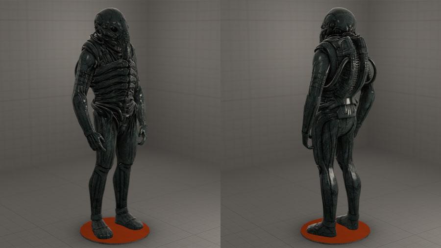 Space Jockey (Prometheus) - Aliens: Fireteam Elite