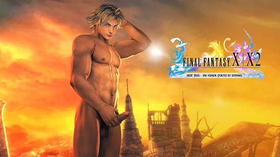 Tidus (Nude) - Final Fantasy 10