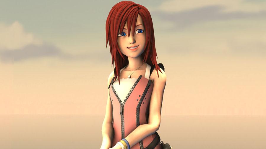 Kingdom Hearts 3 Kairi and Namine