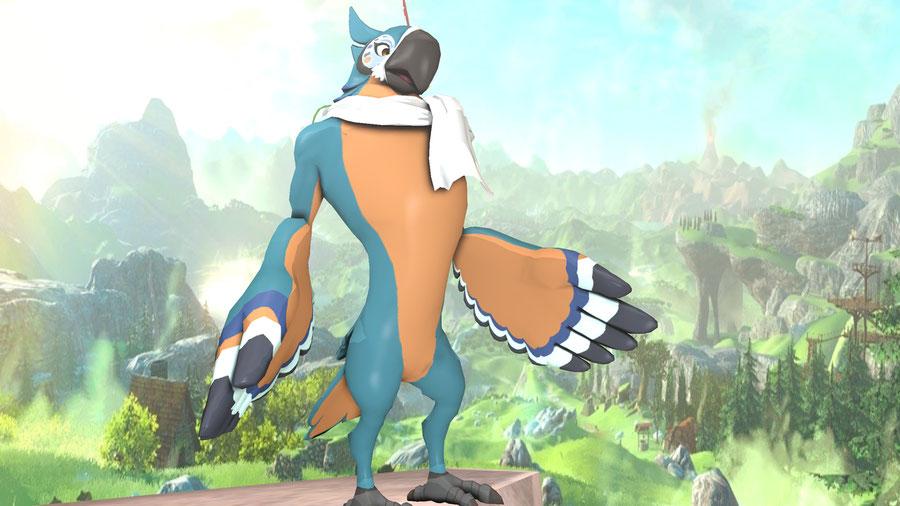Zelda BOTW - Kass nude