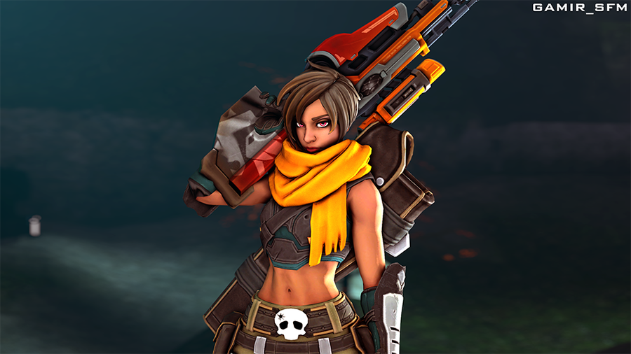 Kinessa [Paladins Champions Of The Realm]