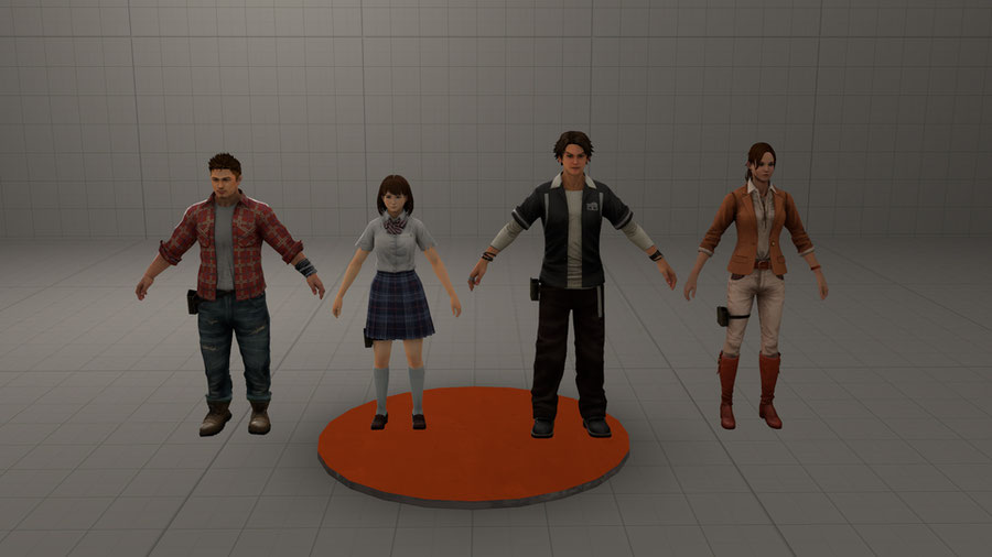[L4D] [REPLACEMENTS] Left 4 Dead 生存者たち (Survivors) character model replacements (Japanese arcade port)