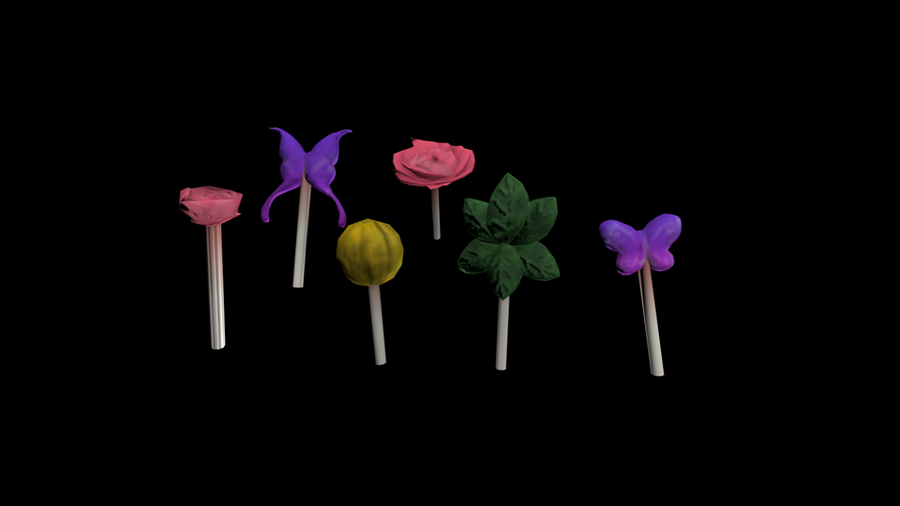 Bayonetta Lollipops