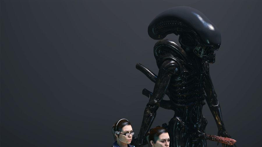 Barbell Alien Pack