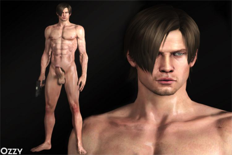 Leon Kennedy Nude Model (Resident Evil 6 / Biohazard 6)