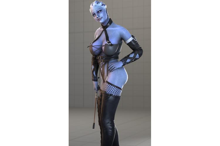 Dominatrix Liara T'Soni (Fantasy Body)