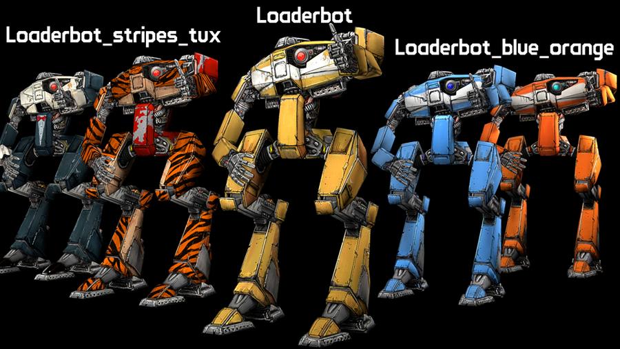 Tales from the Borderlands: Loaderbot (Model + Props Pack)
