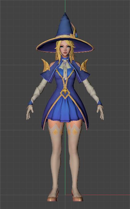 Sorceress Lux - League of Legends