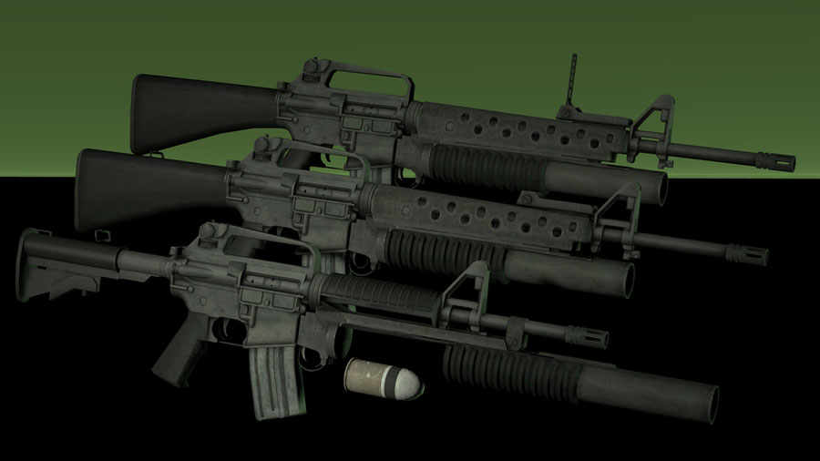 Retro AR15 Pack