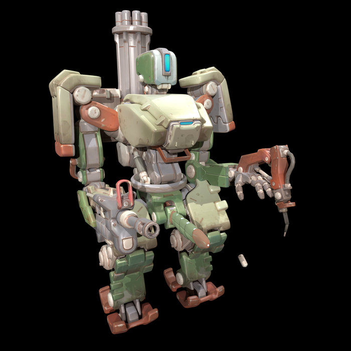 Male/Female Bastion (Overwatch)