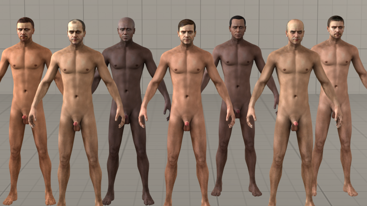 Generic Nude Male v1.1