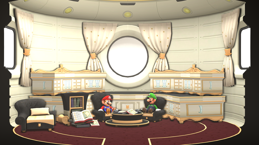 Super Mario Odyssey Interior and Furniture Pack