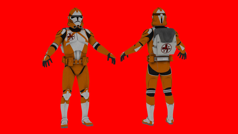 Star Wars: Clone Trooper EOD Pack V1