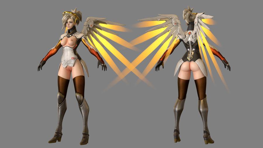Mercy Classic - FBX