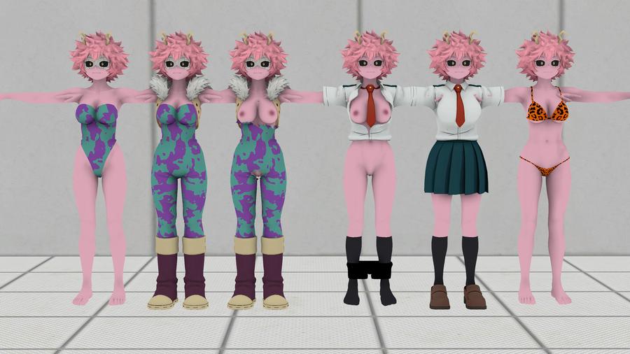 My Hero Academia: Mina Ashido pack