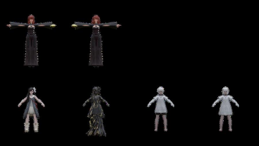 NieR Replicant ver.1.22 Character Model Resource Pack