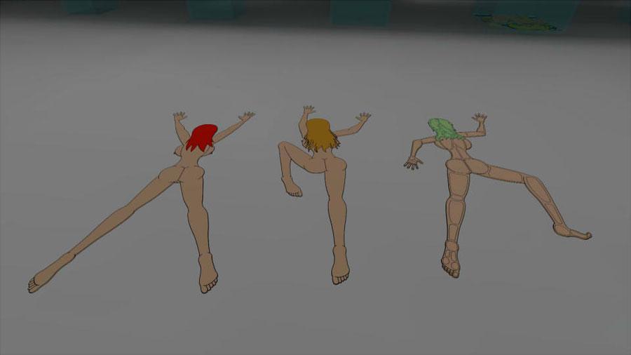 Flattened Girls