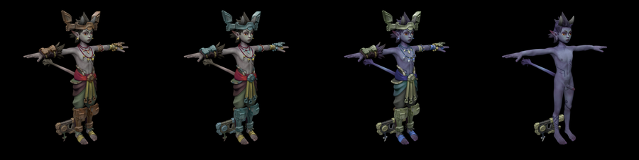 Talus and Talia(champions of realm)