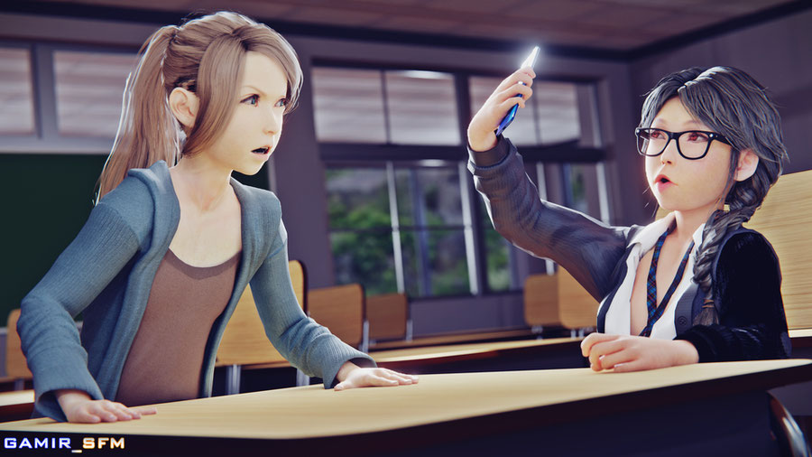 Final Fantasy VII - Spinner Tifa & Nymphette Aerith