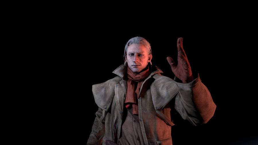 Revolver Ocelot (Metal Gear Solid V: The Phantom Pain