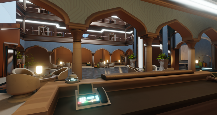 Overwatch - Oasis Hotel