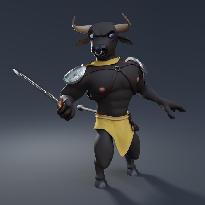 Minotaur (Blender)