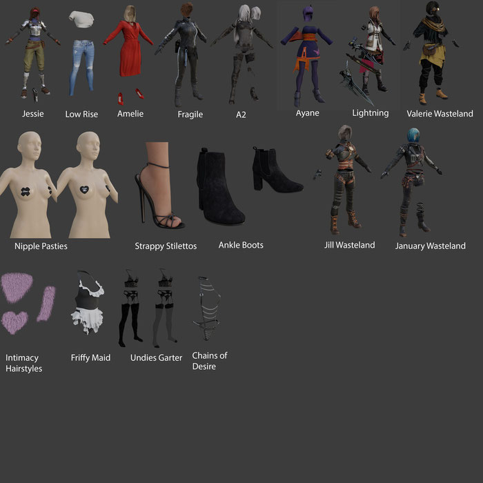 The outfit library
