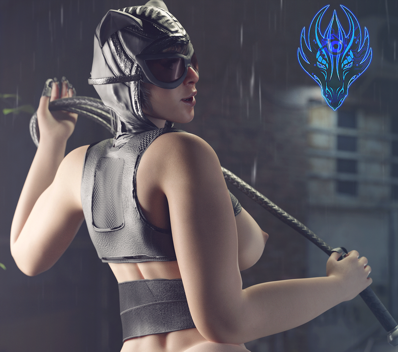 Nude Catwoman 2.0 (THICCER EDITION) from INJ2
