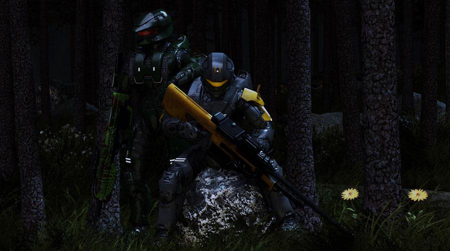 Colorable Spartans - Halo 3