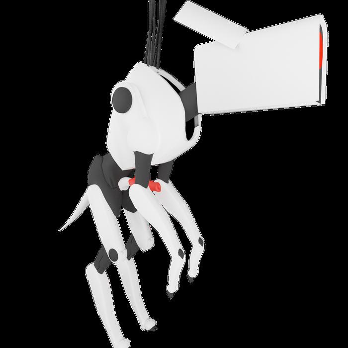 Portal 2 Dog Bot