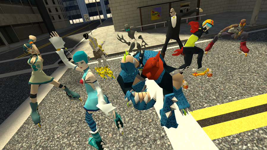 Jet Set Radio Future Pack 3