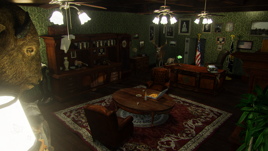 Resident Evil 2 - RPD Chief's Office