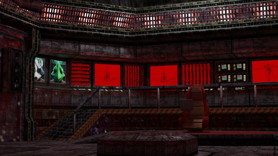 GreatFox Interior (DireWolf) - Star Fox Adventures