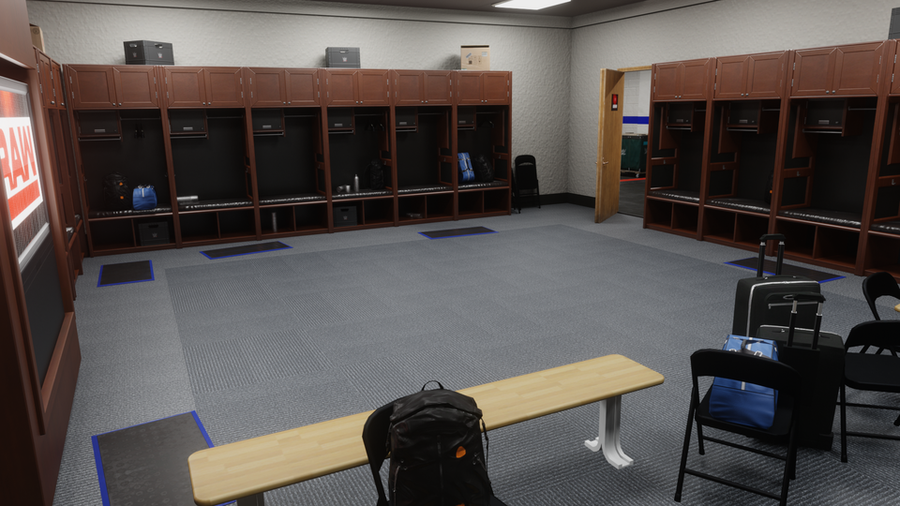 Wrestlng Locker Room