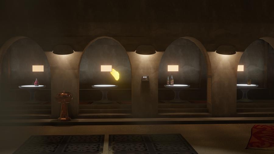 Jabba The Hutt's Palace by Dazinbane
