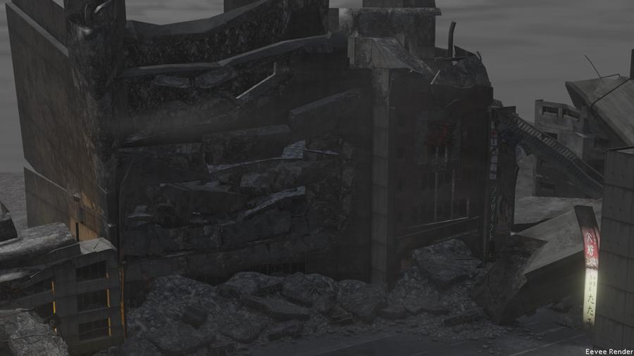 Nuked City (Nuked Tokyo from Shin Megami Tensei)